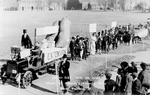 Cooperative Extension Service parade float, 1922
