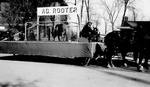 Ag Rooter Hobo Day parade float, 1935 by South Dakota State University