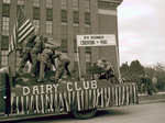 Dairy Club Hobo Day parade float, 1947
