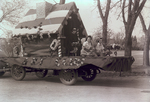 Art Club Hobo Day parade float, 1939