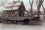 Art Club Hobo Day parade float, 1939