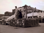 Chorus Hobo Day parade float, 1949
