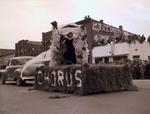 Chorus Hobo Day parade float, 1949