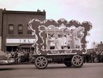Art Club Hobo Day parade float, 1949