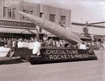 Alpha Zeta Hobo Day parade float, 1957