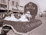 Ag Queen Hobo Day parade, 1957