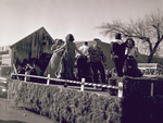 4-H Club Hobo Day parade float, 1951 by South Dakota State University