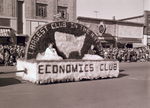 Economics Club Hobo Day parade float, 1955