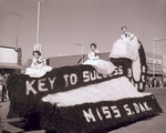 Blue Key Hobo Day parade float, 1960