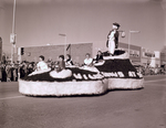Ag Club and Block and Bridle Club Hobo Day parade float, 1961