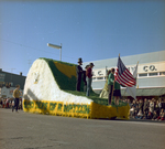 College 4-H Club Hobo Day parade float, 1967