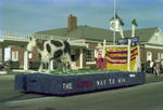 Dairy Club Hobo Day parade float, 1977
