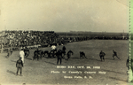 Early Hobo Day football game, 1928