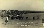 Early Hobo Day football game, 1928