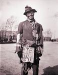 Ben Reifel dressed as a hobo, 1931