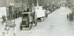 Athenian Literary Society Hobo Day parade float, 1921
