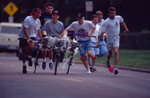 Bed races, Hobo Day, 1992 by South Dakota State University