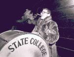 Hobo Day Bum band at South Dakota State College, 1952