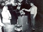 Hobo Day Bum stew at South Dakota State College, 1957