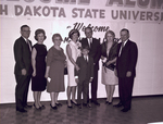 Hobo Day alumni group at South Dakota State University, 1966