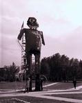 Giant Hobo at South Dakota State University, 1968