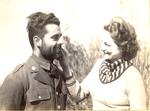 Hobo Day beards, 1936
