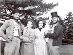 Hobo Day Beard Contest contestants, 1946