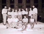 Hobo Day Beard and Pigtail Contest Winners, 1956