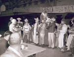German Band at the Blue Key Smoker, 1950