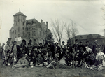 Hobo Day bum band, 1914