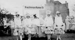 Freshmen Home Ec parade entry, 1916