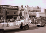 Guidon Chapter Hobo Day parade float, 1934