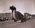 Freshmen Class Hobo Day parade float, 1959