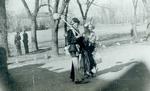 Hobo couple on Hobo Day, 1939