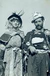 Hobo couple on Hobo Day, 1938