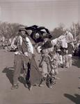 Hobo couple on Hobo Day, 1951
