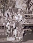 Hobo couple on Hobo Day, 1952