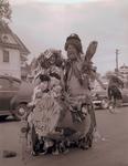 Hobo couple on Hobo Day, 1956