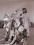 Hobo couple on Hobo Day, 1963