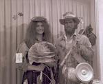 Hobo couple on Hobo Day, 1969