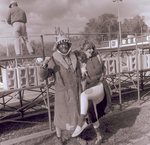 Hobo couple on Hobo Day, 1972
