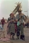 Hobo couple on Hobo Day, 1965