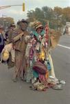 Hobo couple on Hobo Day, 1968