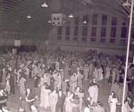 Hobo Day dance at South Dakota State College, 1951