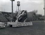 Hobo Day parade float, 1950, South Dakota Land of Plenty