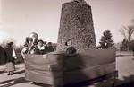 Hobo Day parade float, 1934