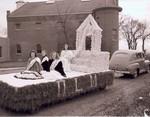 Hobo Day parade float, 1947