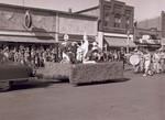 Hobo Day parade float, 1953