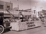 Hobo Day parade float, 1957