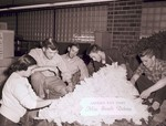 Hobo Day float construction, 1952